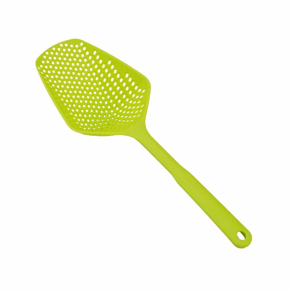 Dreno pá pá pá de gelo de plástico de água de plástico de pesca coador utensílio de cozinha food food grade