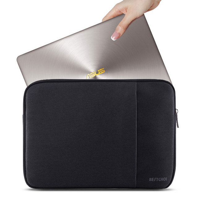 Women Laptop Bag Soild Sleeve bags for Dell XPS 13 Lenovo HP Acer Asus 11  13 14 15 inch Notebook Cover Zipper 15.6 Tablet Case c4e45b9a0