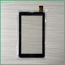 """Dla hsctp 441 (706)  7 a Tablet pojemnościowy ekran dotykowy 7 """"cal PC panel dotykowy szkło digitizer w połowie czujnik darmowa wysyłka w Ekrany LCD i panele do tabletów od Komputer i biuro na"""