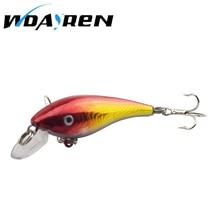 Hot Sell Crank bait Fishing Lure 57mm 4.4g Hard Bait Wobbler Crank Bait Floating Lure 1.5-3.5M Artifical Peche 8 # Hook FA-320