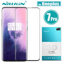 Nilkin Oneplus 7 Pro Tempered Glass Screen Protector Nillkin 3D CP+MAX Full Coverage Glass Protective Film for One Plus 7 Pro