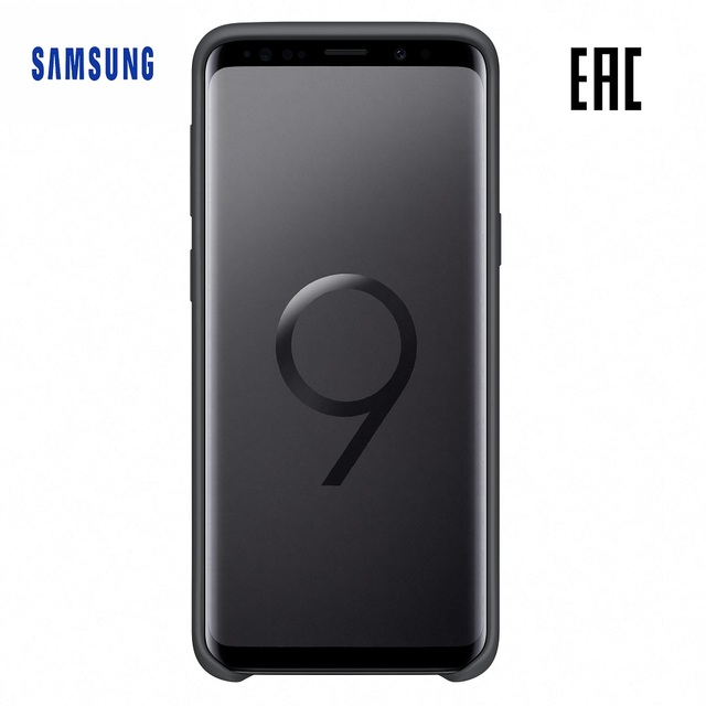 Чехол-накладка Samsung Silicone Cover для Galaxy S9