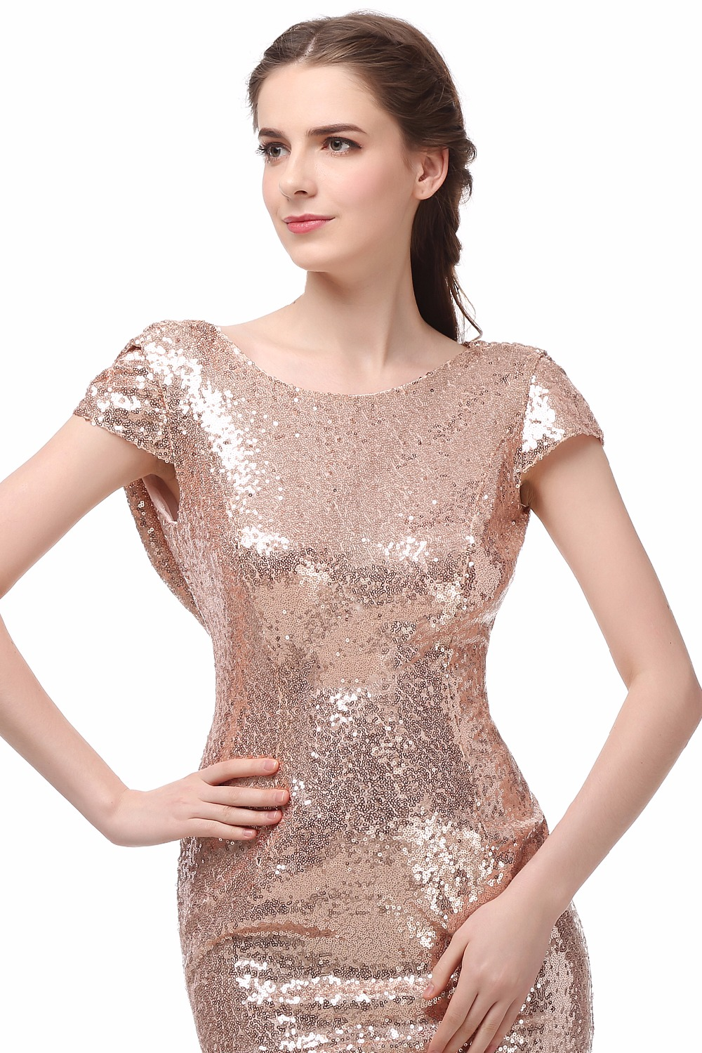 Champagne gold sequin bridesmaid dresses 2016 hot long wedding champagne gold sequin bridesmaid dresses 2016 hot long wedding party dress vestidos de festa vestido longo in bridesmaid dresses from weddings events on ombrellifo Gallery