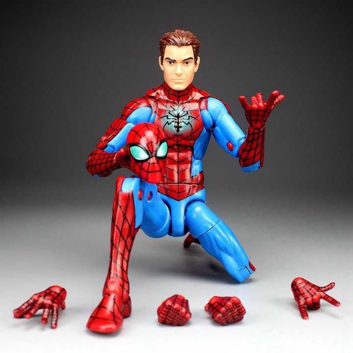 MARVEL legends spider-man Homecoming /& MARVEL MJ Action Figure 2 Pack