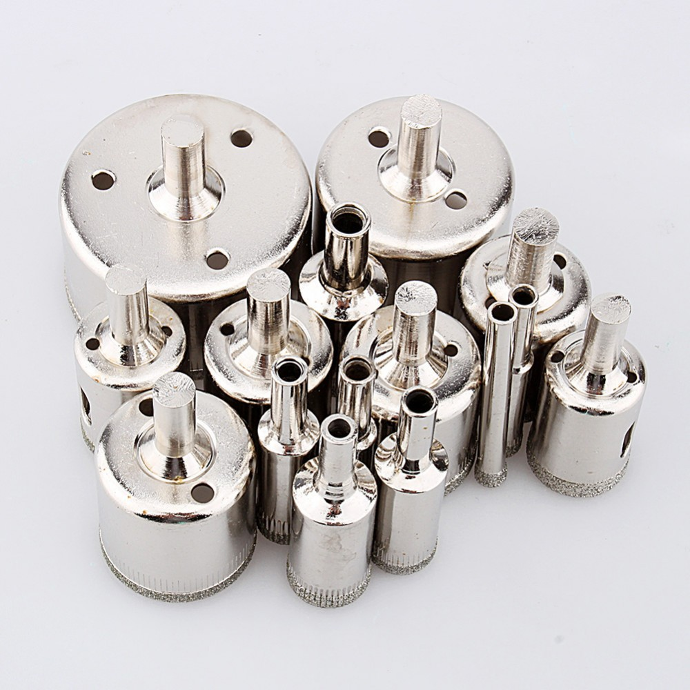 15pcs / set Juego de brocas de diamante Sierra de agujero de diamante - Broca - foto 4