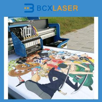 Máquina de impresión digital 3D Wuhan bcxlaser de gran oferta para impresión de prendas de vestir de buena calidad