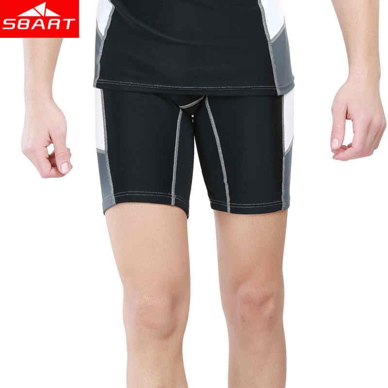 SBART الرجال ليكرا ملابس السباحة الغوص الرطب الدعاوى ليكرا قصيرة/طويلة كم الأشعة فوق البنفسجية حماية إركب الرياح طفح الحرس الغوص قميص الرطب الدعاوى