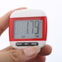Mini Wasserdicht Schritt Bewegung Kalorien Zähler Multi-Funktion Digital Schrittzähler