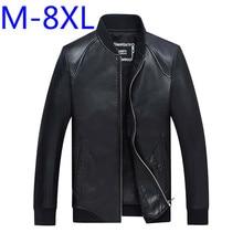 8XL 6XL 5XL 4XL Plus size new leather jacket Genuine Leather Sheepskin motorcycle man coat Leather jacket men biker jacket XL