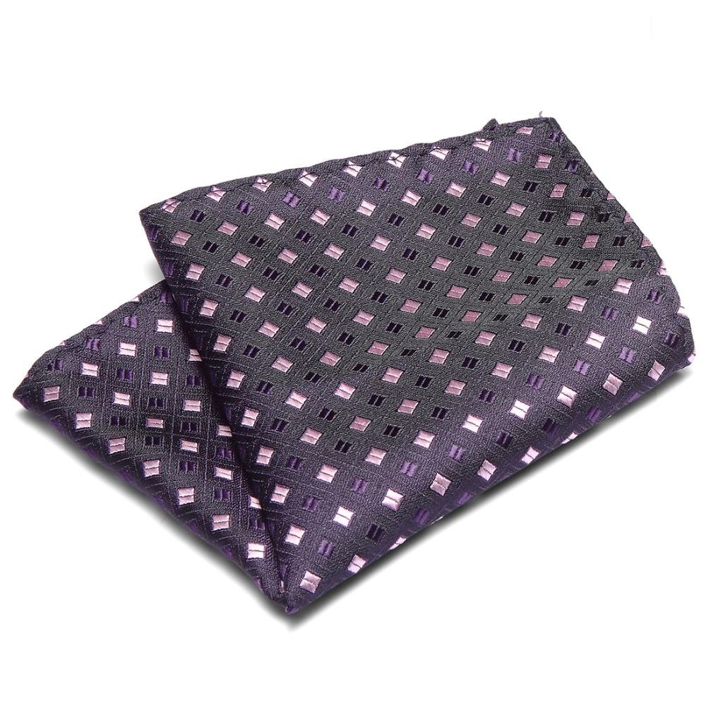 Pocket Squares For Suits Jackets Wedding Party Business New Men 100% Silk Floral Plaid Handkerchiefs