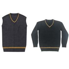 Wholesale Sweater V-neck Vest Uniforms Magic Sweater Long Sl