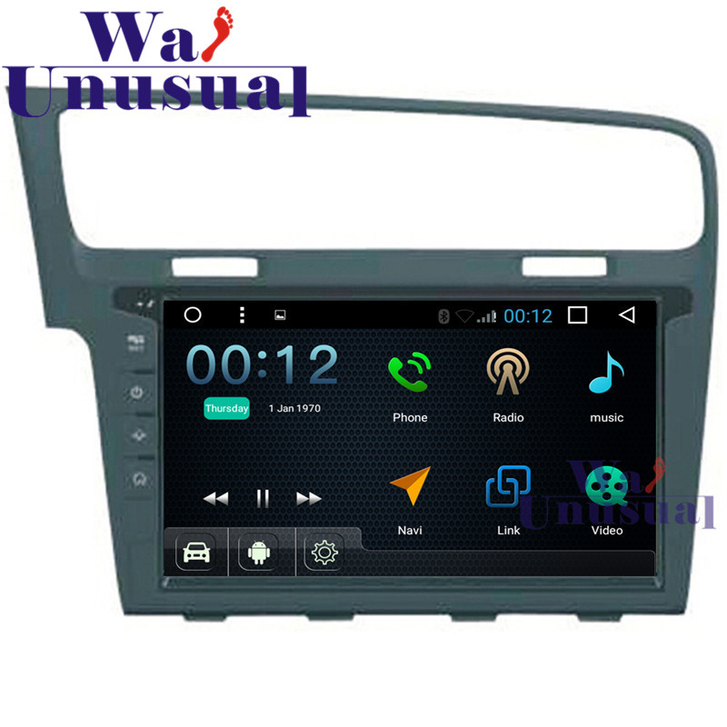 10.1Android 6.0 Quad Core 16G Auto GPS Navigation For VW GOLF 7 Radio Stereo with Bluetooth WIFI Mirrorlink 1024*600 Free Maps