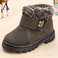 aercourm A Winter Kids Boots New Children Snow Shoes Scrub Genuine Leather Boots Girls Boys Plush Boots Boys Winter Warm Shoes
