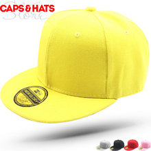 52ca0e0af14b27 2019 Blank Black Baseball Cap Kids Outdoor Fashion Snapback Hats 5 panel White  Caps for Boys