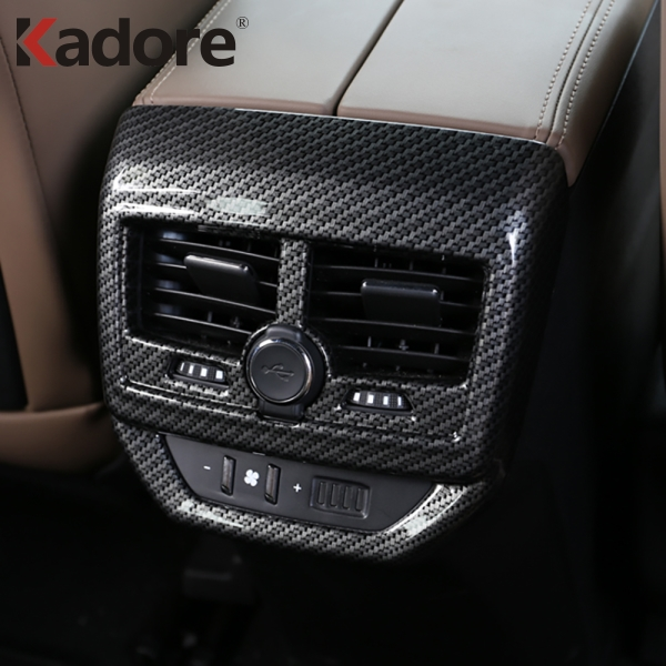 vente en magasin meilleur endroit les ventes en gros US $16.21 17% OFF|For Peugeot 3008 GT 2017 2018 Interior Accessories  Armrest Rear Air Conditonnal Vent Cover Trim AC Outlet Panel Decoration  frame-in ...