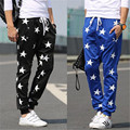 clothing 2016 sweatpants Hip hop printing motion five-pointed star yeezy boost joggers pantalon homme gymshark pants