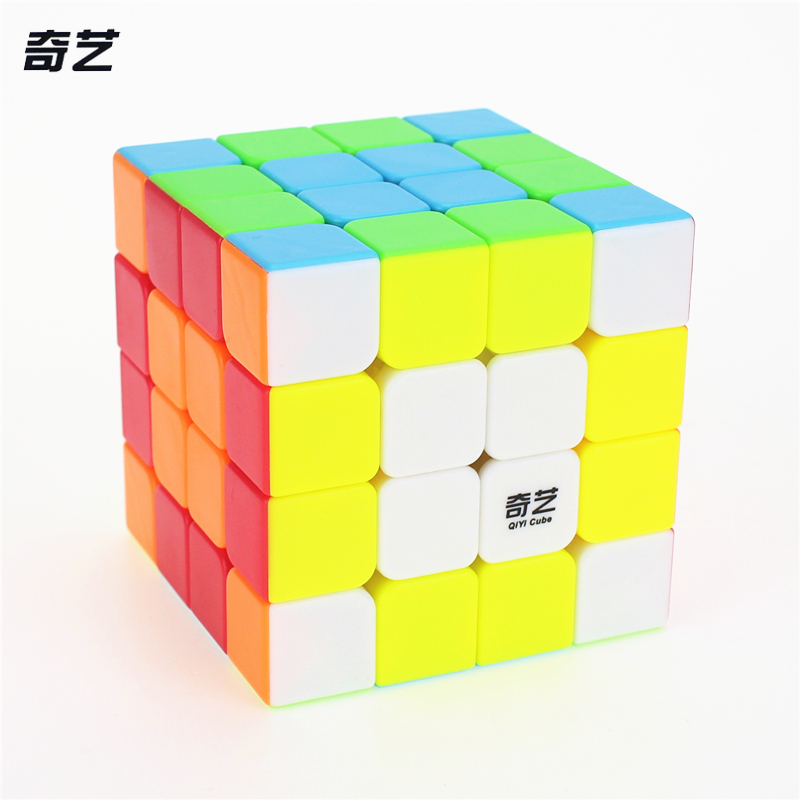 QiYi QI YUAN S 4x4 Magic Cube Competition Speed Puzzle Cubes Toys For Children Kids cubo stickerless Matte cube qiyi mofangge pentacle cube strange shape magic cube black stickerless speed cube puzzle star twist cubes toys for children kids