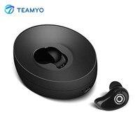 Teamyo S600 Bluetooth Kulaklık Mini Kablosuz Kulaklık Için Mic ile Yüksek Kalite Bluetooth Kulaklık iPhone Samsung Xiaomi