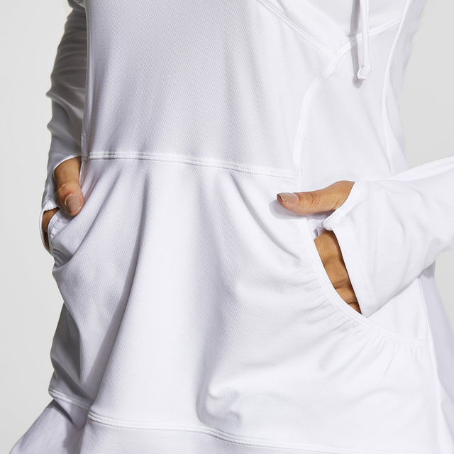 Women's Gym,Active Wear, Hoodie Long Sleeves , UPF 50+ Beach Summer XS-XXL  3 colors