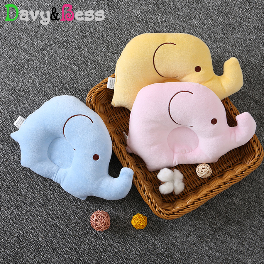 Animal Anti Flat Head Baby Pillow Newborn Baby Head Cushion Infant Anti Roll Pillow For A Baby Neck Decor Kids Room Decoration