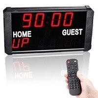 Basketball Time stopwatch electronic scoreboard football table tennis badminton game scoreboard multi function countdown card