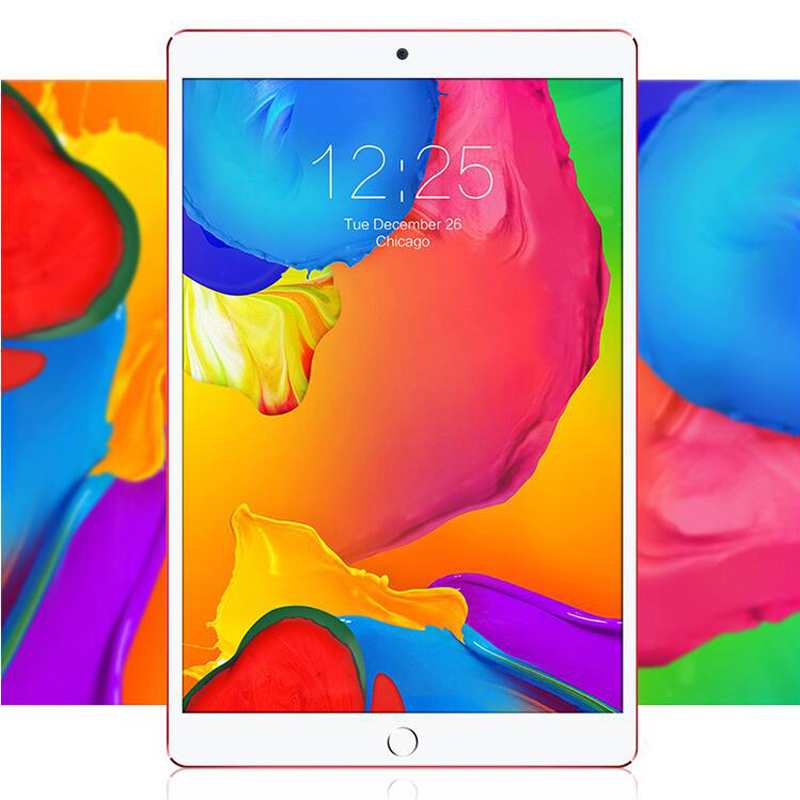 Free Shipping 10 inch 3G/4G LTE Phone metal tablet PC Android 8.0 Octa Core RAM 4GB ROM 32GB 64GB 1920*1200 IPS tablets MediaTek(China)