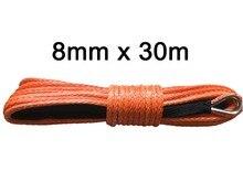 حبل ونش كيفلر للطرق الوعرة ، 8 مللي متر × 30 م ، شحن مجاني