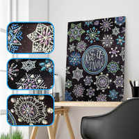 New 5D DIY Diamond Painting Cartoon Flower Special Shape Diamond Cross Embroidery Diamond Embroidery Crystal