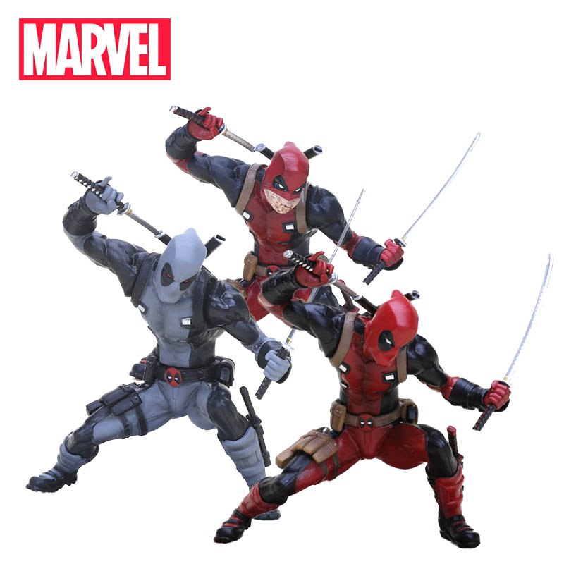 13cm Marvel Toys Deadpool Figure ARTFX Statue 1/10 Scale Pre-painted Collectible Model Kit Wade Wilson X-MEN PVC Action Figure ...