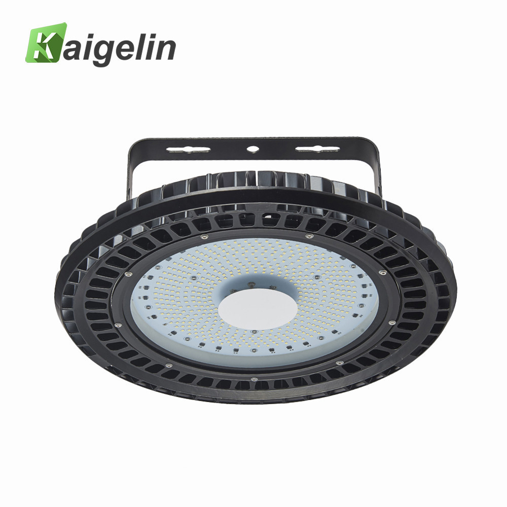 2 PCS Kaigelin 250W 200W 150W 100W UFO LED High Bay Light 220V Mining Lamp Highbay Light For Exhibition Gym Industrial Lighting 1pcs 50w 100w 150w led high bay light 150w led industrial lamp for sewing machine light factory warehouse stadium workshop