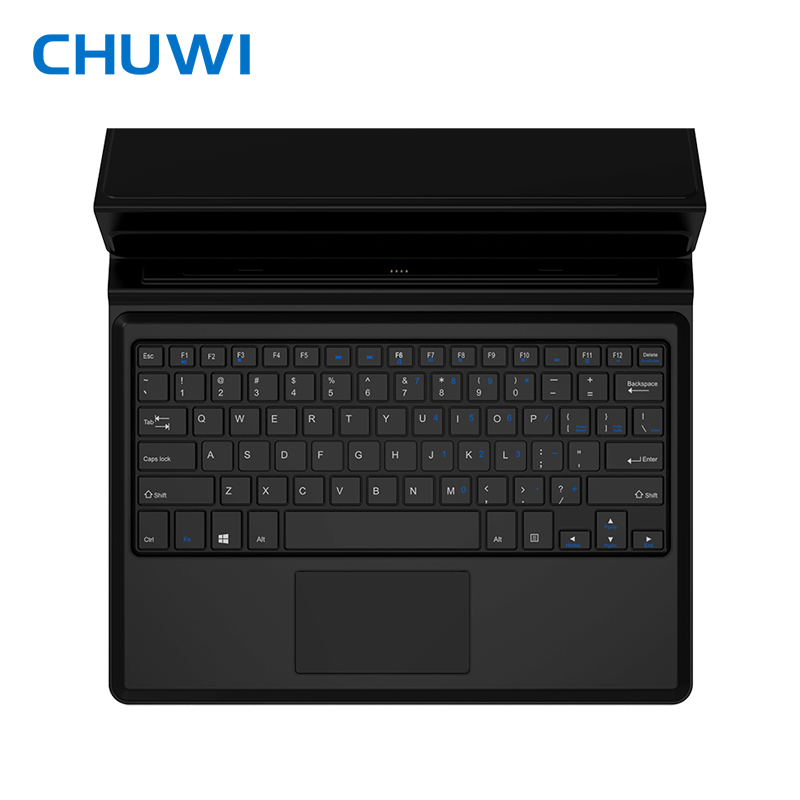CHUWI original Magnetic docking keyboard 10.8 inch for tablet pc Vi10 Plus/Hi10 Plus Foldable design with PU Leather case universal 61 key bluetooth keyboard w pu leather case for 7 8 tablet pc black
