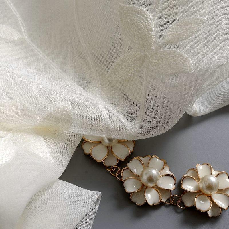 Λευκά είδη Κουρτίνες για σαλόνια - Αρχική υφάσματα - Φωτογραφία 6
