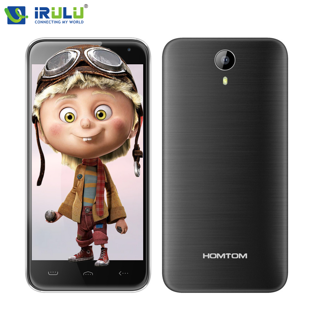 iRULU Homtom HT3 Mobile Phone 5 0 MTK6580 Quad Core Android 5 1 Smartphone 1GB RAM