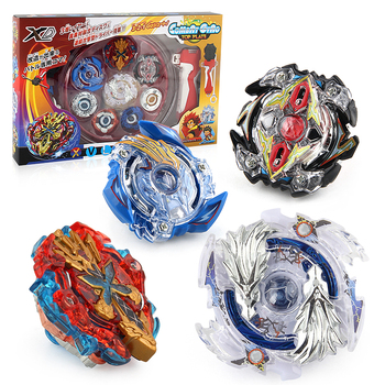 New Bayblade 4PCS/SET Beyblade Burst Arena Spinning Top Metal Fight Byblade Metal Fusion Children Gifts Classic Toy beyblade set