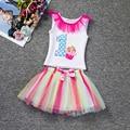 Summer Baby Girl Princess dresses child Girl clothes set 1 2 year Birthday tutu dress infant kids girls boutique clothing sets