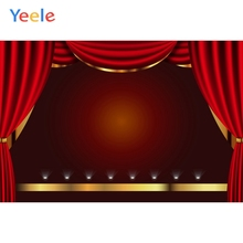 Yeele Wallpaper Formal Red Meeting Backdrop Solemn Photography Personalized Photographic Backgrounds For Photo Studio