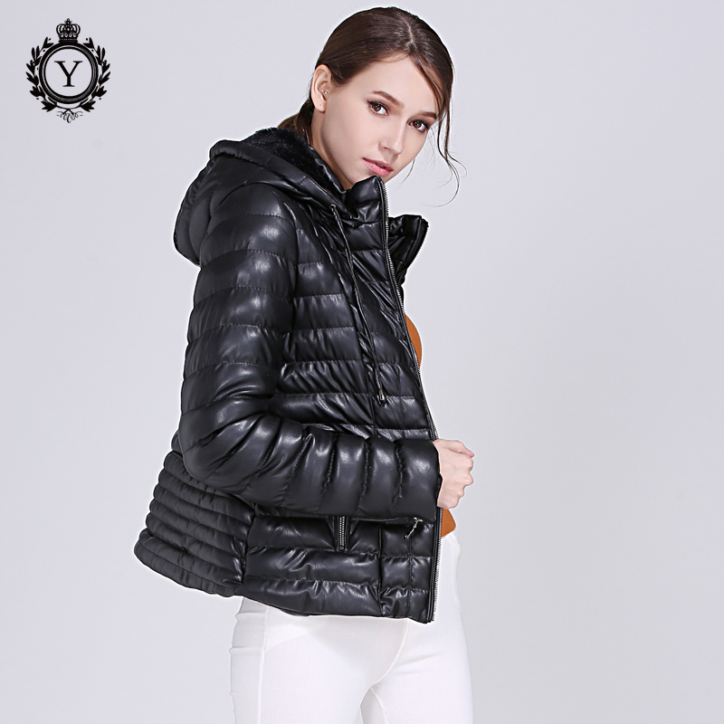 Fashionable Hooded Jacket Women Winter Short Style Cotton Padded Jacket Coat High Quality Thick Warm Female