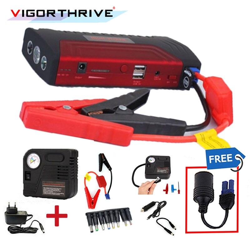 Car booster car jumper car jump starter car power bank 2 USB Power Bank Battery Charger booster