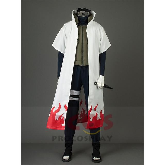 Best Naruto Namikaze Minato Cosplay Costume Yellow Flash Cosplay