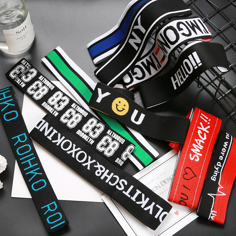 Sports Hair Belt Hip-hop Male Street  Headband Korean Headwear Wide Personality European And American Simple Headdress