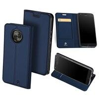 Original DUX DUCIS Leather Case For Motorola Moto X4 Luxury Flip Card Holder Stand Wallet Cover