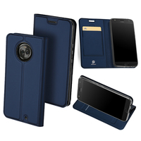 Original DUX DUCIS Leather Case For Motorola Moto X4 Luxury Flip Card Holder Stand Wallet Cover