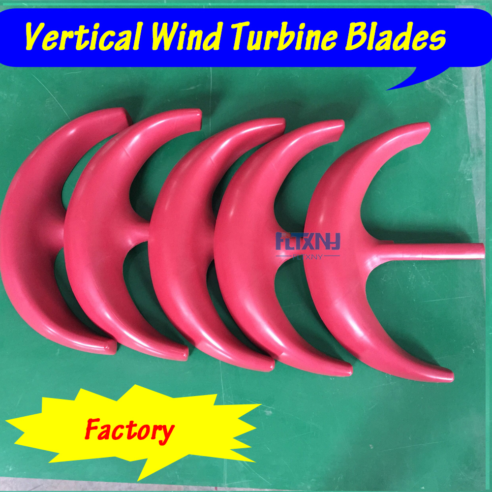 Wind turbine generator blades red white color Nylon blade glass fiber blade plastic blades for DIY wind turbine generator wltoys v272 diy blade for r c v272 h111 white red