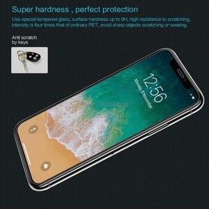 Image 3 - Gehärtetem Glas Für Apple iPhone XS Max Screen Protector Für iPhone XR X NILLKIN Erstaunlich H Nanometer Anti burst schutz Film