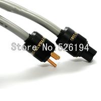 Бесплатная Доставка 2 м Audio Note ISIS 4N Чистая медь США/EU кабель питания для усилителя HIFI шнур питания кабель