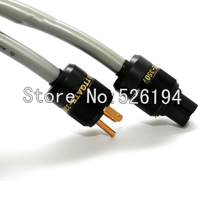 Free shipping 2M Audio note ISIS 4N pure copper US/EU power cable for amplifier hifi power cord cable  2m free shipping hi fi power cable 8ag pure silver plated power cord cable us ac power cable iec female audio power cable