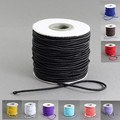 40m/roll 2mm Round diy Nylon cord Outside and Rubber cord Inside Elastic Cords roll string thread For Jewelry Making accessories