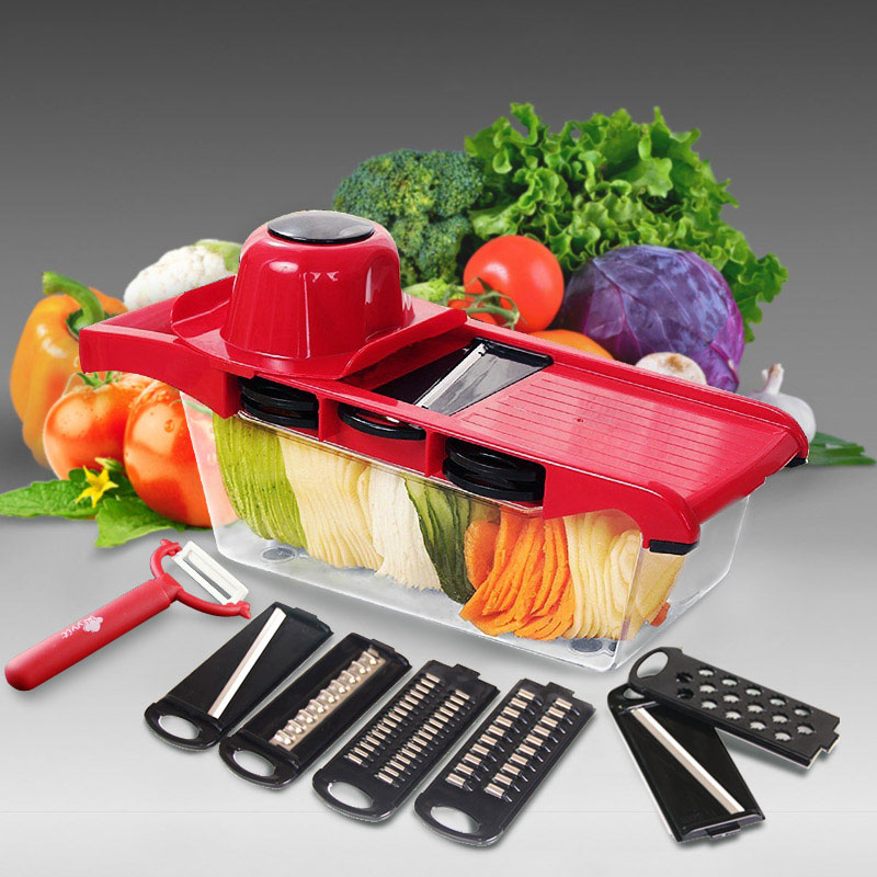 Vegetable Slicer Grater Mandoline Peeler Cutter Multi-function Carrot Onion Fruit Tools Kitchen Accessories Cooking fonksiyonlu rende