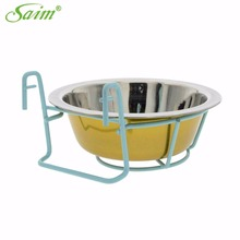 New Arrival Stainless Steel Bowls Pet Dog Cat Puppy Food Water Feeder Feeding Dish Water Food Feeding Bowl Pet Ornaments