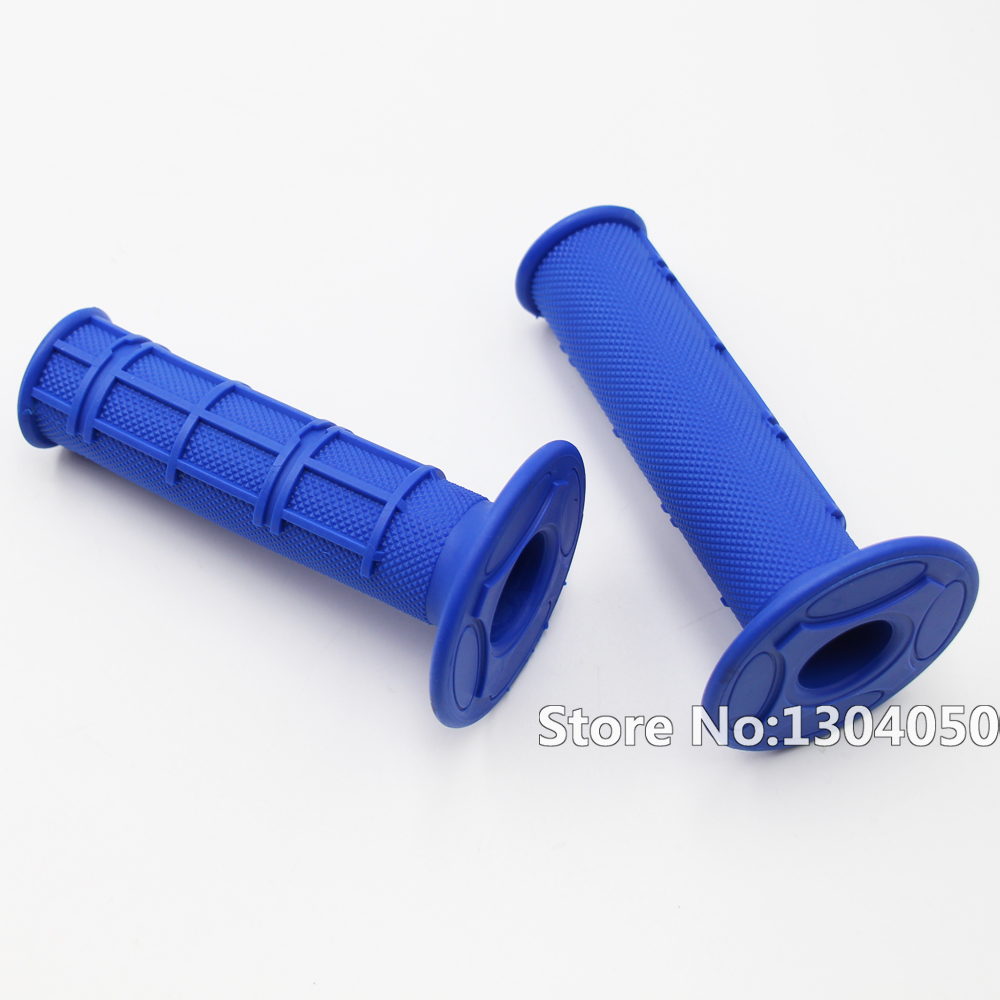 Blue Mx Synergy Half Waffle Motocross Grip SOFT COMPOUND Dirtbike Enduro Hand Grips new